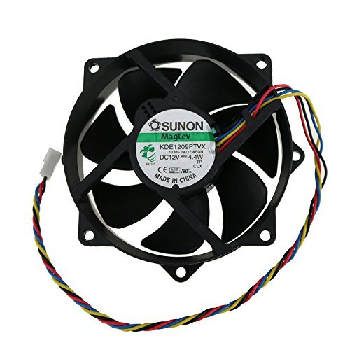 Dual Ball Bearing cooling fan,DC BRUSHLESS Swellder DELTA AFC1212DE Fan 12V 1.6A 120mmx38mm for DELL P//N Y4574 5-Pin 4-Wire