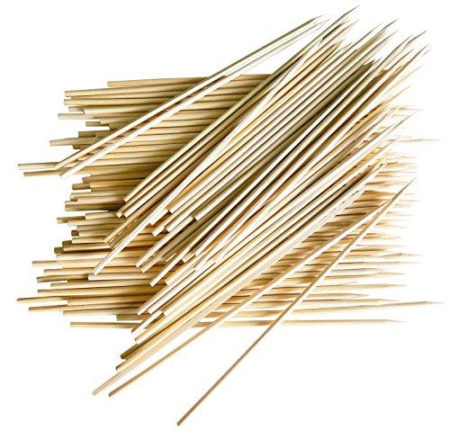 FACKELMANN 100Spieße aus Bambus, braun