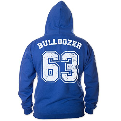 Bud Spencer Herren Bulldozer 63 Zipper (blau) (XXL)