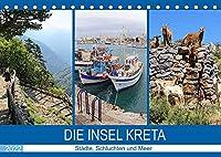 Die Insel Kreta - Staedte, Schluchten und Meer (Tischkalender 2022 DIN A5 quer): Die groesste und schoenste der griechischen Inseln (Monatskalender, 14 Seiten )