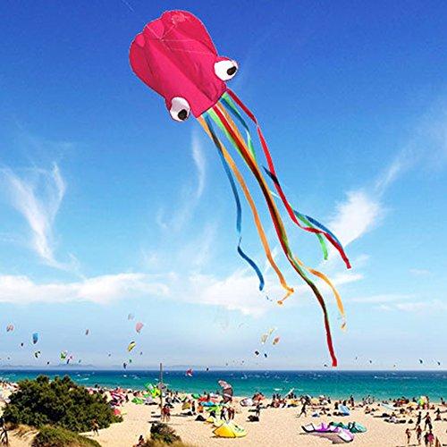 GGG 4M Ligne simple Stunt multi-couleurs Jeu de Plein Air cerf-volants Prêt à voler Outdoor Sport Jouets Nouveau - Rose couleur