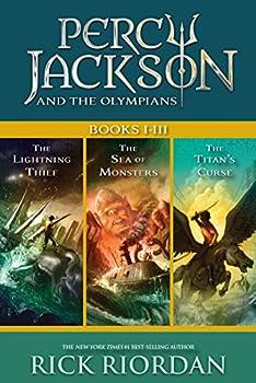 Percy Jackson and the Olympians: Books I-III Kindle eBook