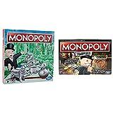 Hasbro - Classic - Monopoly (Versión Holandesa) (0604051) + Monopoly - Tramposo (Versión Española) (Hasbro E1871105)