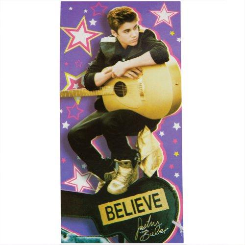 Believe Justin Bieber Toalla de Playa Piscina - Justin Bieber Toalla de ba_o