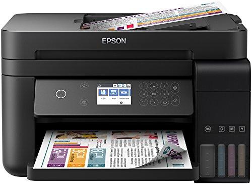 Epson ITS EcoTank L6170-3-in-1 inkjet-multifunctioneel apparaat met LCD-scherm en Wi Fi Buitengewoon lage printkosten tot 14.000 pagina's in zwart-wit en 11.200 pagina's in kleur