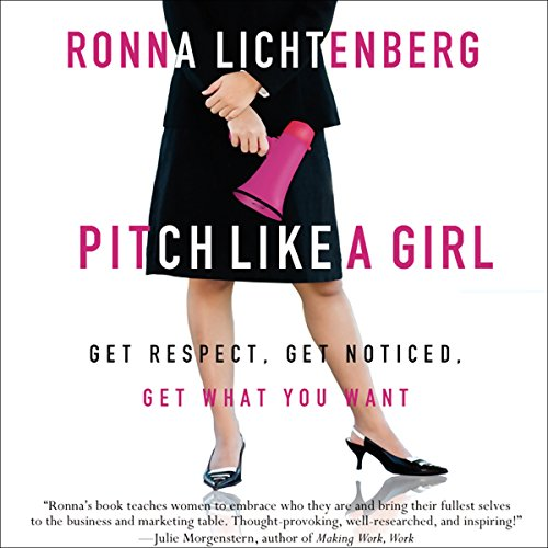 Pitch Like a Girl audiobook cover art