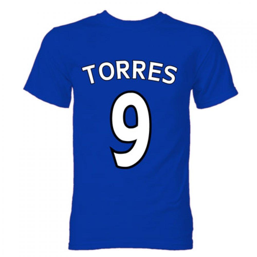 Fernando Torres Chelsea Hero T-Shirt (Blue): Amazon.es: Deportes y aire libre