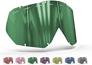 OnyxLenses Polarized Replacement Lens for Thor | Hero/Enemy w/o Pins & Vented UNI/Jade Green