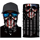 Goldenguy Neck Gaiter Face Mask, Bandana Head Wrap Scarf Headwear Balaclava for Men and Women Sports Headband