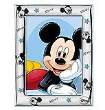 Disney Baby - Topolino Mickey Mouse - Cornice Porta Foto da Tavolo in Argento per Neonato ...