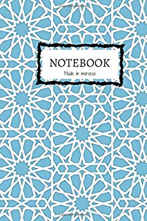 Moroccan Mosaic NoteBook: Arabic ZELIGE 6x9
