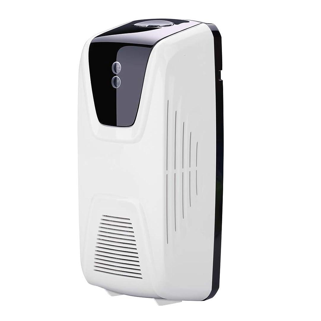 予測フラフープフェッチRakuby ファン型 自動 軽いセンサー 空気清浄 ディスペンサー使用 エッセンシャルオイル 香水詰め替え スプレー缶