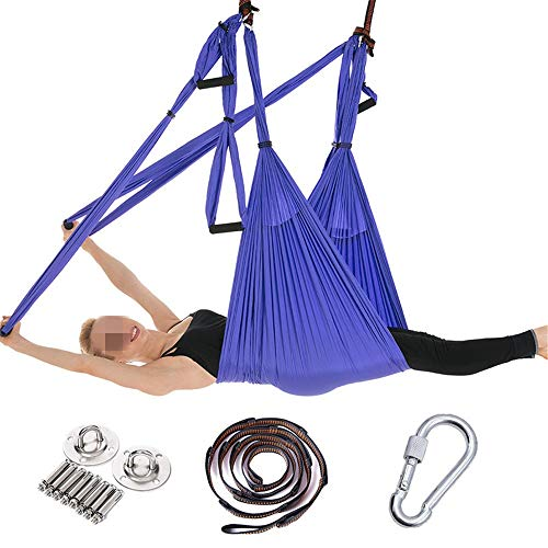Buy Bargain Anti gravity yoga hanging kit Yoga Hammock Home Stretch Belt Aerial Hammock Reverse Grav...