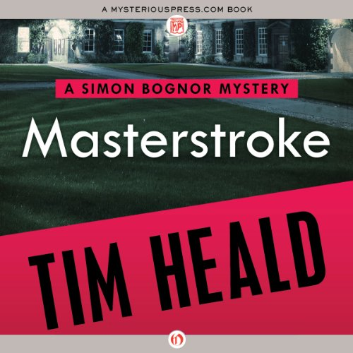 Masterstroke audiobook cover art