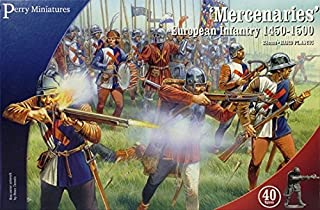 Perrys Miniatures Pmwr20 Perry Miniatures 28Mm - War Of The Roses Mercenary Infantry