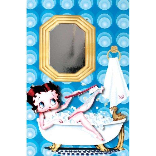 Betty Boop Carte de bain à bulles