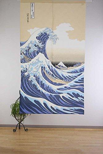 『narumikk のれん 白波 14-214』の2枚目の画像