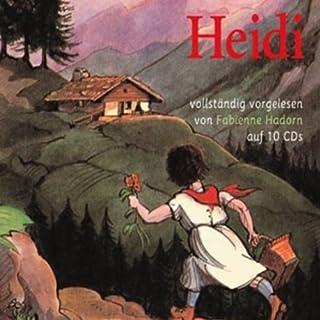 Heidi                    Autor:                                                                                                                                 Johanna Spyri                               Sprecher:                                                                                                                                 Fabienne Hadorn                      Spieldauer: 9 Std. und 34 Min.     80 Bewertungen     Gesamt 4,7