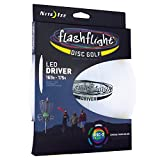 Best Glow In The Dark Frisbees - Nite Ize Flashflight LED Disc Golf Disco Driver Review