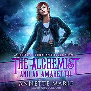 The Alchemist and an Amaretto cover art