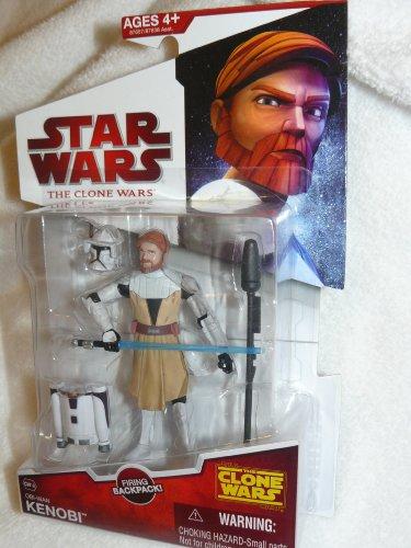 Star Wars: Clone Wars 2009 Wave 8 Obi-Wan Kenobi Action Figure