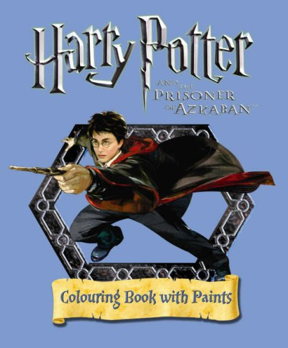 Harry Potter and the Prisoner of Azkaban Colouring Book With Paint Pots