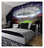 FIFA Football Stadium Pitch Sport Wall Mural Photo Wallpaper Kids Game Home Deco 260cmx175cm