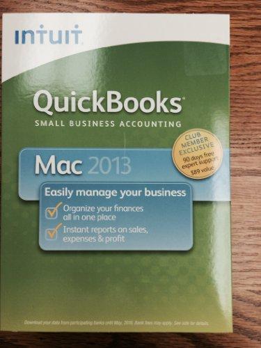Intuit Quickbooks for Mac 2013