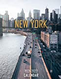 New York: 2021 – 2022 Calendar of Nature, Country, University – 18 months – 8.5 x 11 Inch High Quality Images