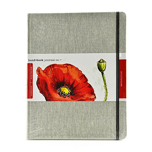 Hand Book Journal Co. Travelogue Watercolor Journals Pocket Panorama 3 1/2 in. x 8 1/4 in. [Pack of 2 ]