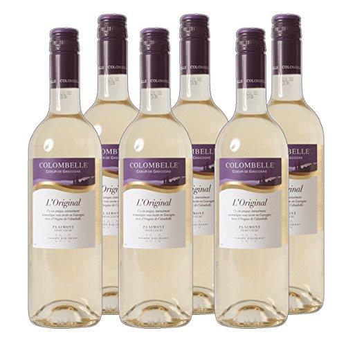 Colombelle - Vin de Pays des Cotes de Gascogne Weißwein Frankreich 2019 trocken (6x 0.75 l)