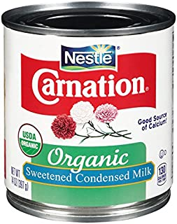 Carnation Organic Sweetened Condensed Milk, 14 Fluid Ounce (Pack of 24)