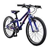 Mongoose Cipher Kids Mountain Bike Blue, 20-Inch