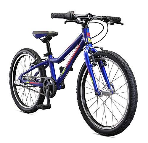 Mongoose Cipher Kids Mountain Bike Blue, 20-Inch