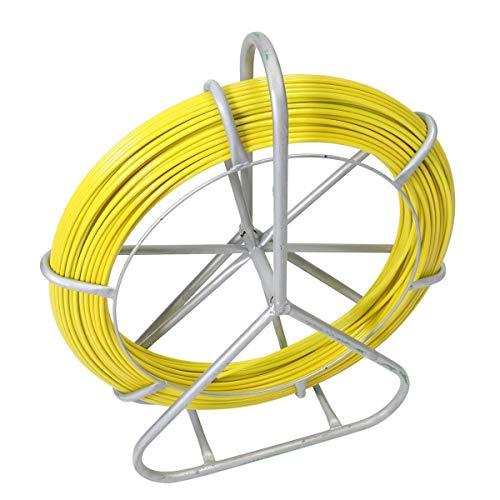 SISHUINIANHUA 150M 8Mm TS Durchmesser Glasfaserkabel Fisch-Tape Rollenware Puller Conduit Duct Pulling-Drahtseil-Fischen-Werkzeug-Zug-4200Kg