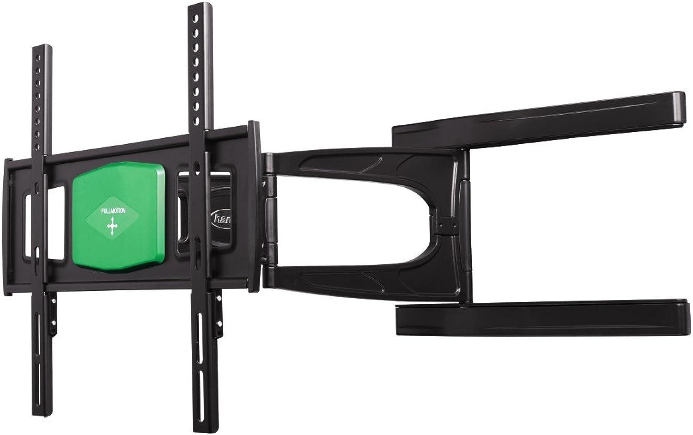 Hama TV-Wandhalterung Fullmotion Ultraslim (2 Arme) neigbar, schwenkbar (vollbeweglich), für 81 - 142cm Diagonale (32- 56 Zoll), für max. 25 kg, VESA bis 400 x 400, schwarz
