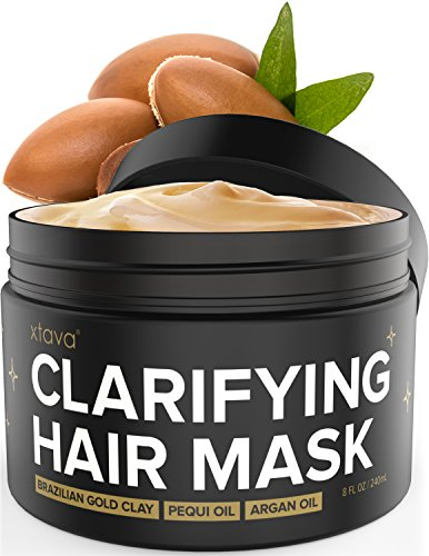 Xtava Clarifying Clay Hair Mask Review