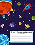 Primary Composition Notebook: Primary Composition Books K-2. Picture Space And Dashed Midline, Primary Composition Notebook, Composition Notebook for Kindergarten, Composition Notebook - Jennifer W. R.