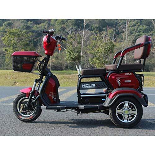 Smx Moderna eléctrico Triciclo Scooter, Ocio al Aire Libre 3-Scooter de Rueda...