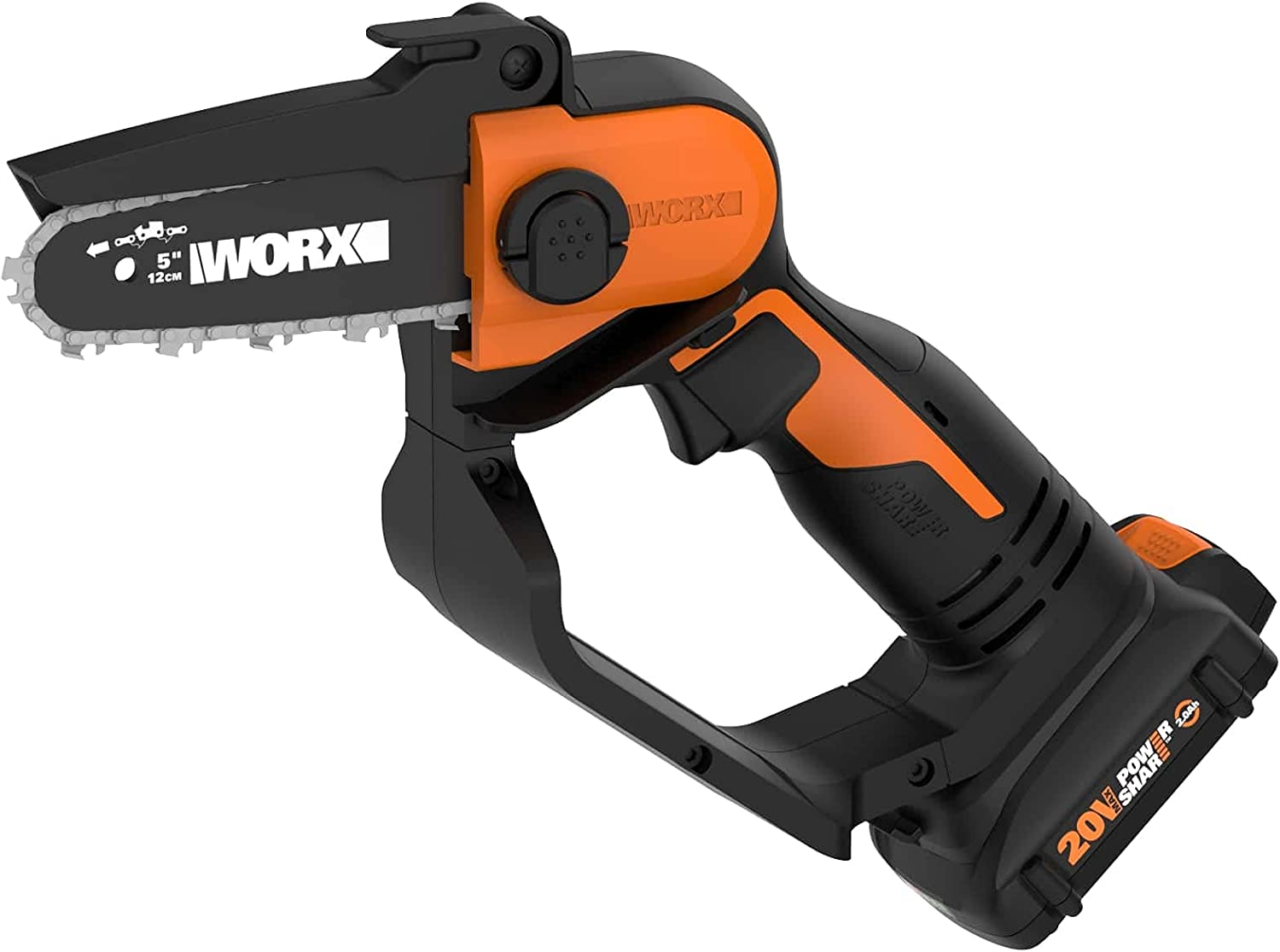 """WORX WG324 20V Power Share 2021 autumn and winter new Ranking TOP19 5"""" Pruning Black Cordless Or Saw"""