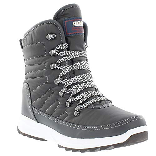 Khombu Elsa Boot Womens Grey