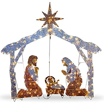 Best nativity outdoor christmas decorations Reviews