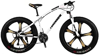 Home Equipment Bike Bicycle Adult Big Tire Beach Snowmobile Bicycles Mountain Bike For Men And Women 26IN Wheels Adjustabl...