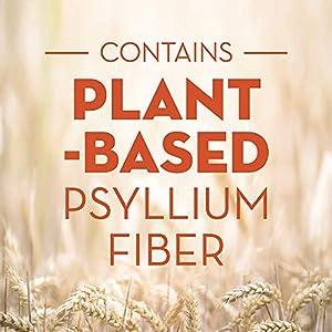 Metamucil, Psyllium Husk Fiber Supplement, 3-in-1 Fiber for Digestive Health, Plant Based, 300 Capsules