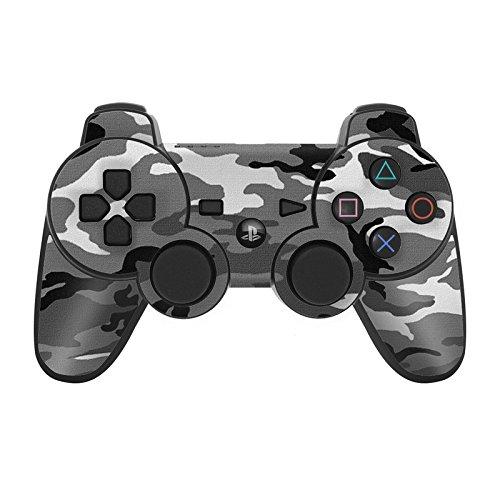 Skins4u Aufkleber Design Schutzfolie Vinyl Skin kompatibel mit Sony PS3 Playstation 3 Controller Camouflage Urban Camo