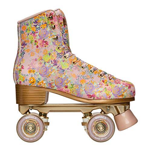 Impala Rollerskates Girl's Impala Quad Skate (Big Kid/Adult) Cynthia Rowley Floral 7 (US Men's 5,...