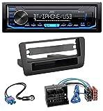 JVC KD-X351BT AUX USB Bluetooth MP3 Autoradio für Audi A1