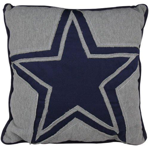 Dallas Cowboys Big Logo Applique Pillow