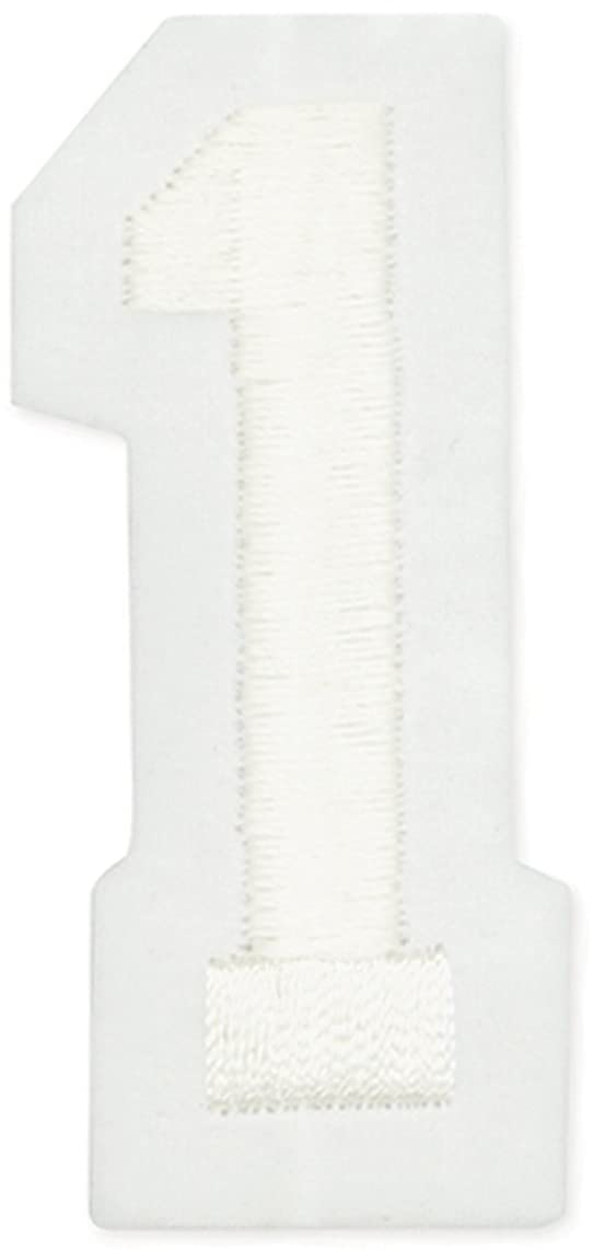 Joy S.A. 50100-50127 Embroidered Craft Number, 1, 2-Inch