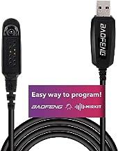 Original Baofeng USB Programming Cable for Baofeng UV-9R BF-9700 A-58 UV-XR UV-5S GT-3WP Plus Handheld ham Radio transceiver Uportable Ham Handheld CB Radio USA Warranty